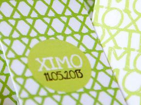 Recordatorio Comunión marca páginas Ximo verde